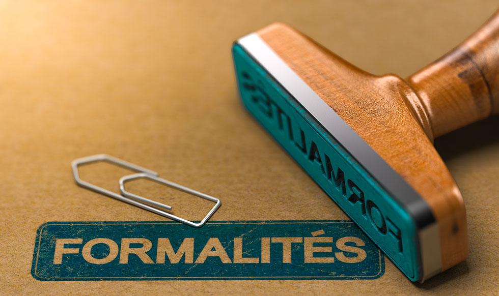 Fichiers pour démarches administratives