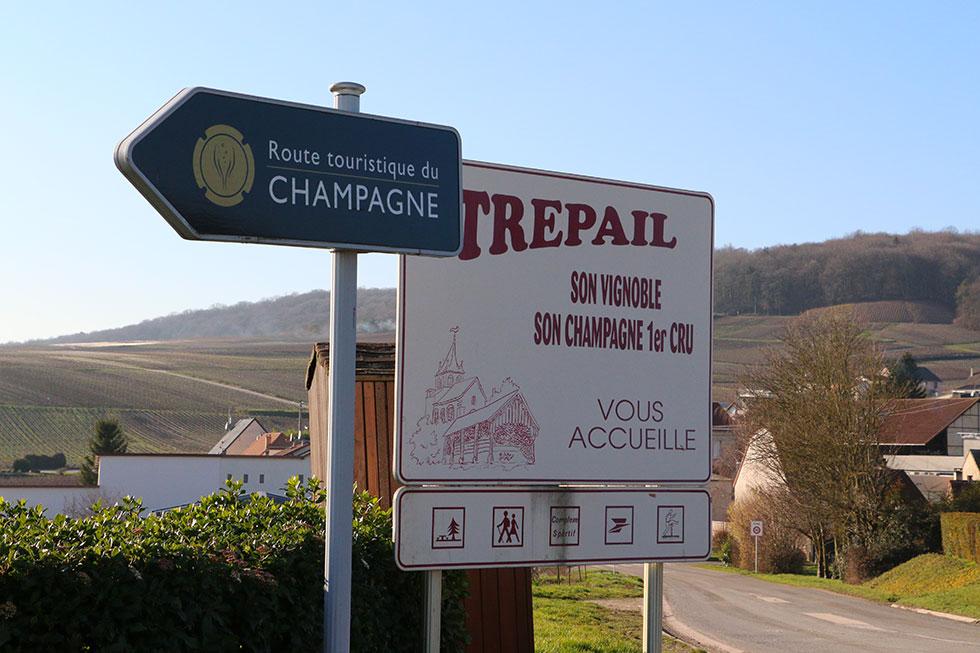 Trépail sur la route touristique du champagne