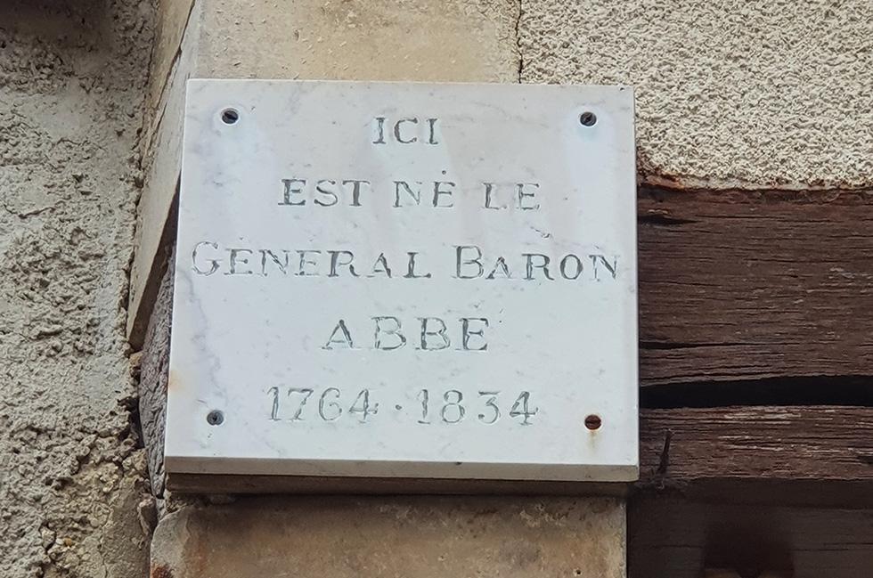 Trépail Générale Louis Jean Nicolas ABBÉ