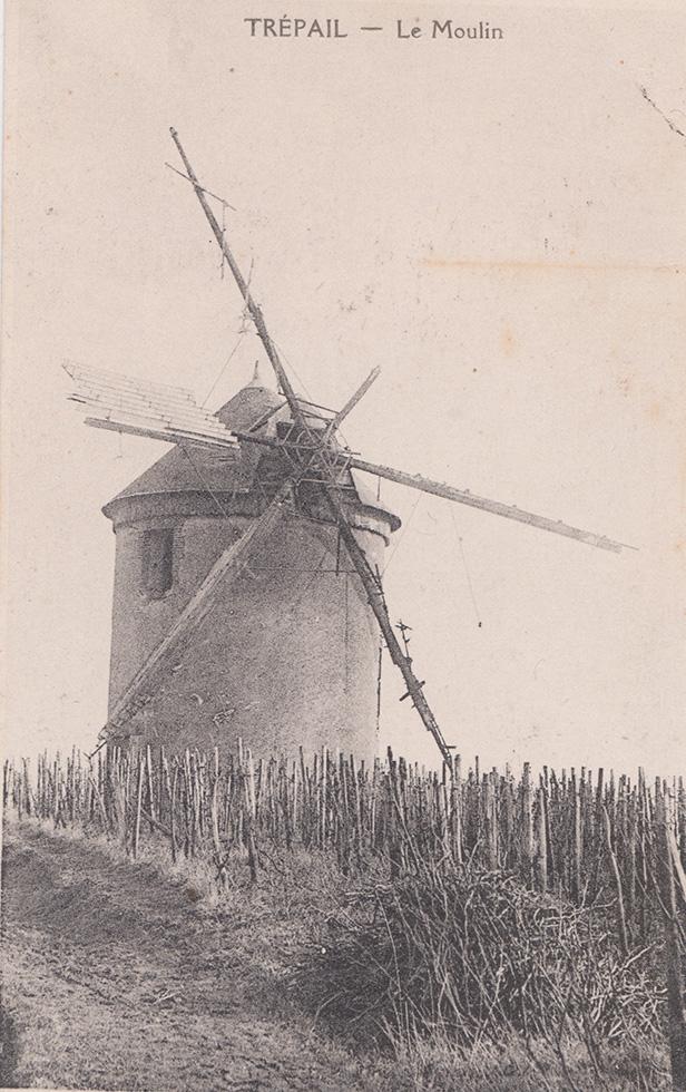 Trépail histoire Les Moulins