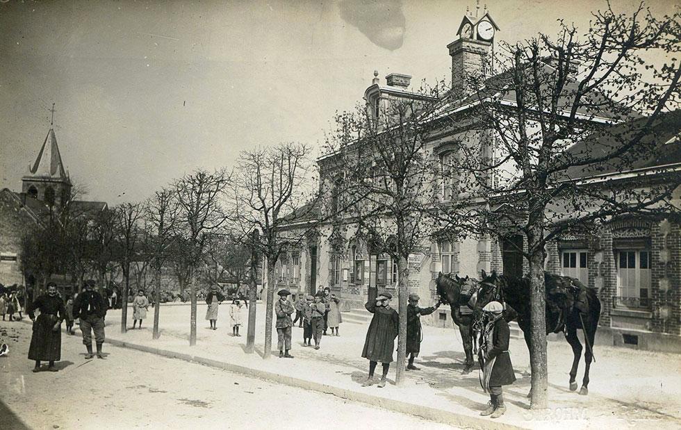 Trépail en 1911