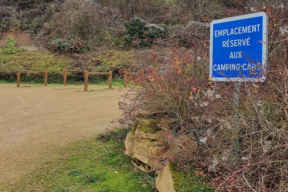 accueil camping-car à Trépail
